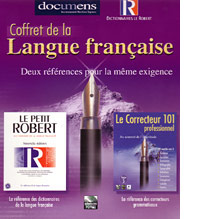 Proofing Tools and Dictionaries  Coffret de la Langue Fran�aise