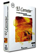Proofing Tools and Dictionaries  El Corrector 2.0 Spanish Grammar and Spell Checker CD-ROM