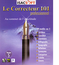 Proofing Tools and Dictionaries  Correcteur 101 Pro French Grammar and Spell Check Software